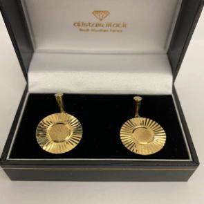 Secondhand 9ct Gold Cufflinks