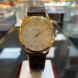 1959 Vintage 9ct gold Super Precision Rolex