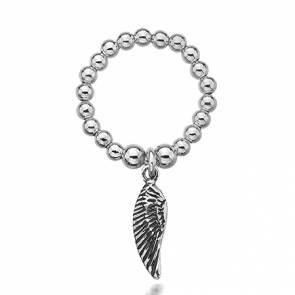 Dollie Charmeine Angel Wing Ring - R0013