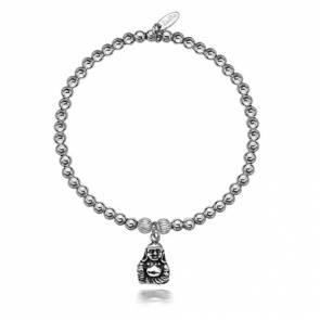 Dollie Sophia Heart Black Faceted Bracelet - B0010