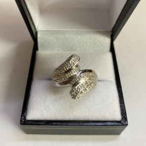 Secondhand 9ct White Gold Diamond Ring