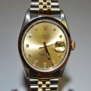 Pre-owned 18ct & steel Rolex