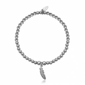 Dollie Faith Feather Bracelet - B0015