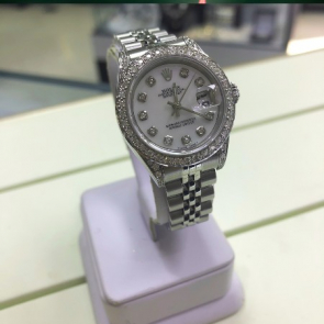 NEW IN! Ladies Date Just After Set Diamond Rolex