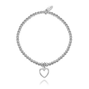 Dollie Annabelle Open Heart Bracelet - B0002