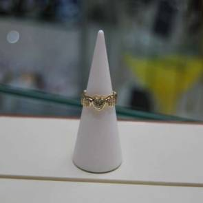 1ct Diamond Heart Ring