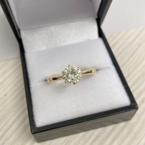 Secondhand 18ct Gold Diamond Solitaire Ring 1.16ct