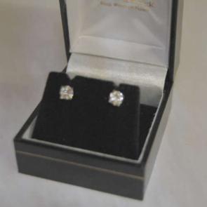 Secondhand 18ct White Gold Diamond Studs